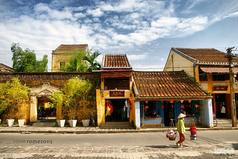 Hoi-an-town World Heritage Sites of Vietnam