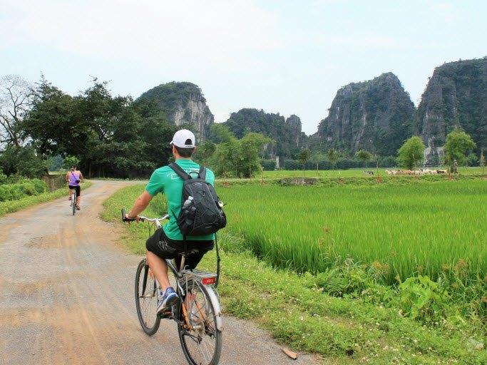 Bike ride in Ninh Binh