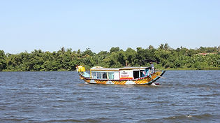 Dragon Boat on Perfume River