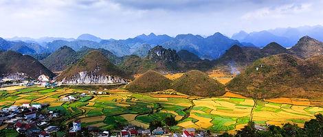 Quang Ba Twin Moutains