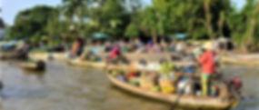 boat shop in Mekong