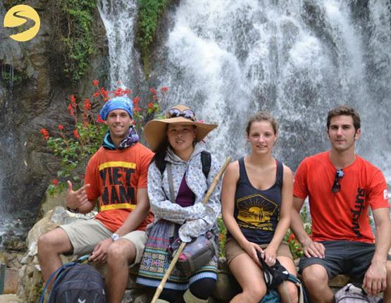 By Tien Sa Waterfall