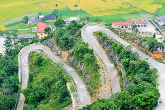 Road to Lung Cu Flag