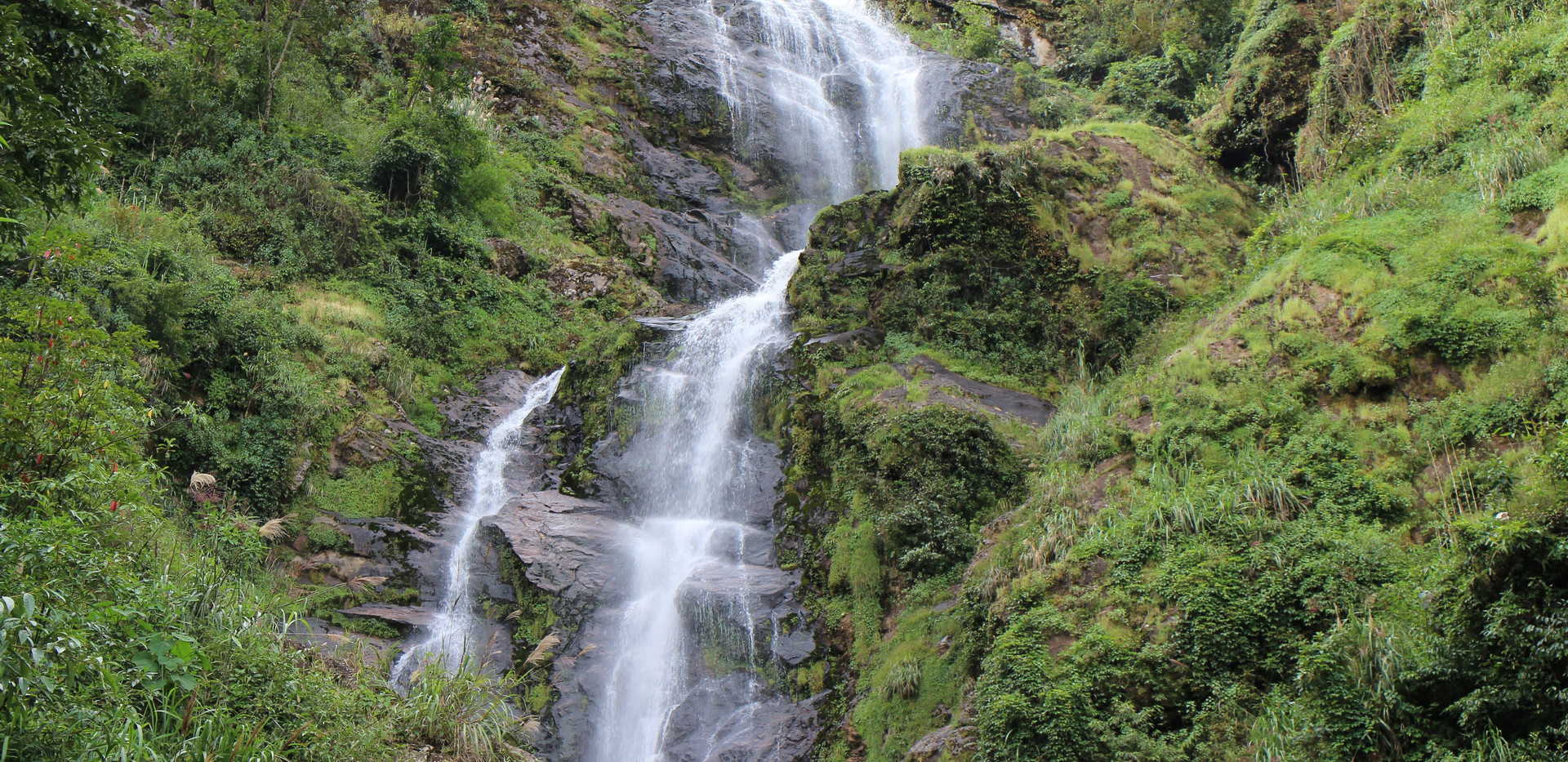 Trek to the picturesque waterfall