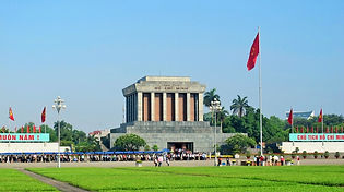 Front of HCMC Mausoleum