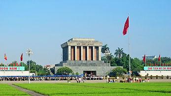 Front of HCMC Mausoleum