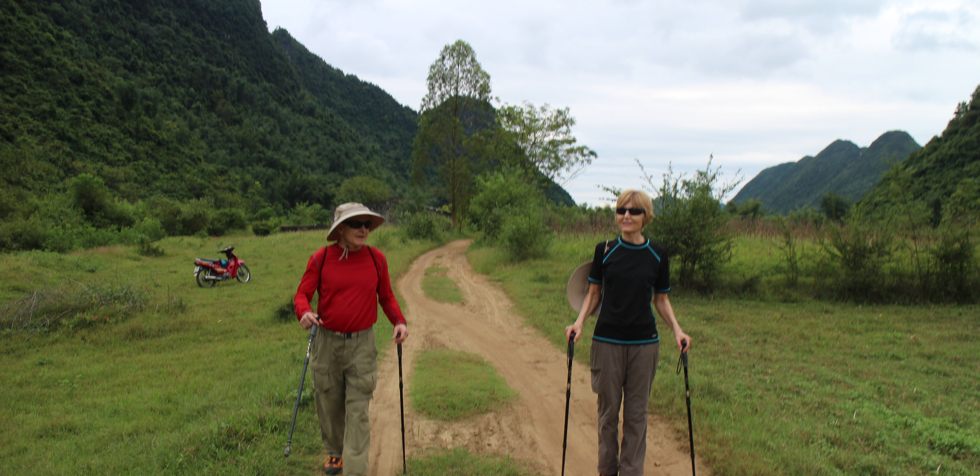 Soft trekking trails in Bac Son