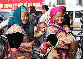 Bac ha market ha Giang Tour