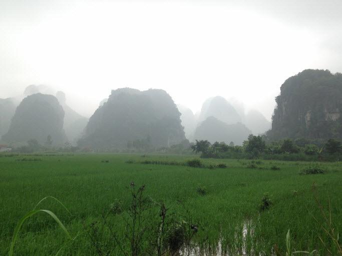 Scenery in Thung Nang