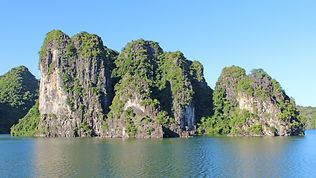Scenery of Halong Bay