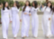 ao dai  traditional costumes of Vietnam