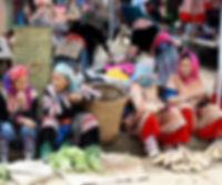Vender in Bac Ha Market