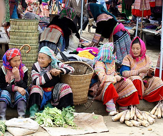 Vender in Bac Ha Market