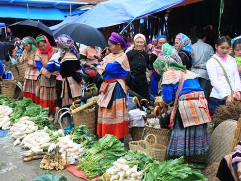Bac Ha Weekend Market