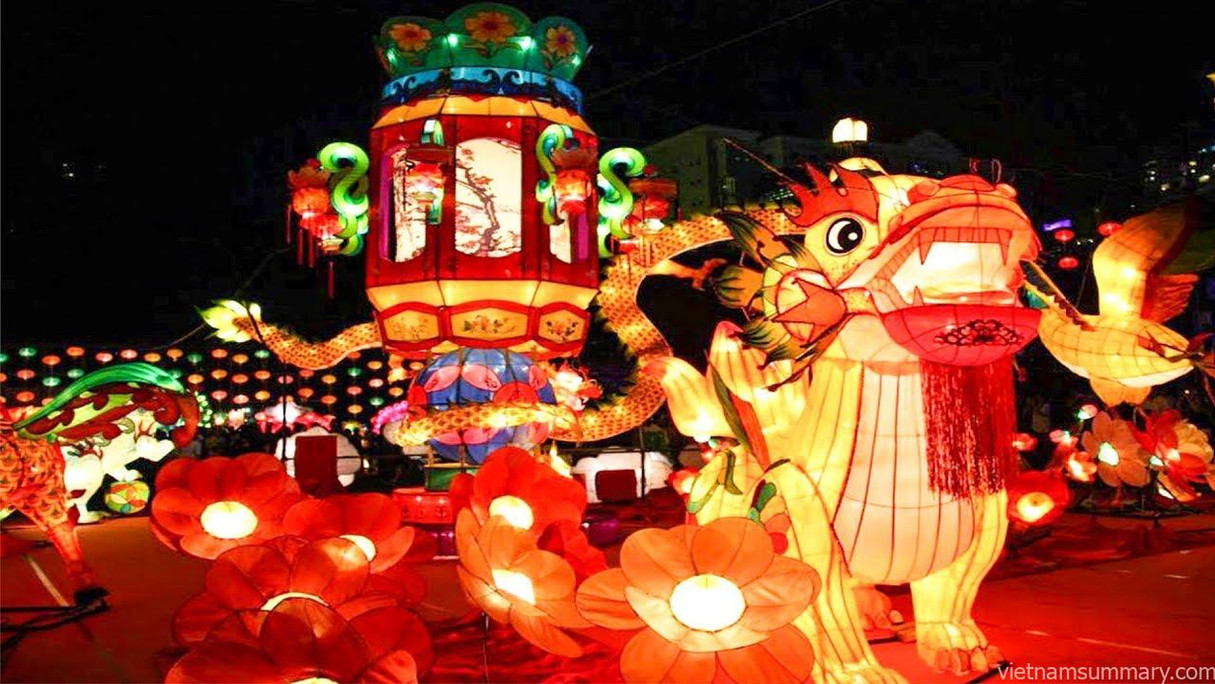 mid-autumn-festival the principal holidays and festival in Vietnam