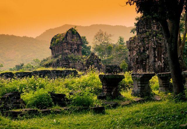 My Son Sanctuary da nang vietnam 1.jpgWorld Heritage Sites of Vietnam