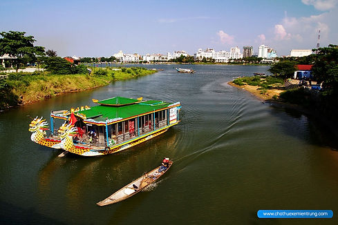traveling by boat around Huong river Hue Travel Guide