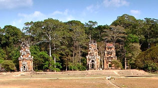 Angkor Thom Temples and Forest