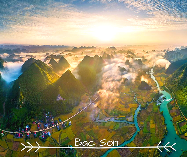 Bac Son Breathtaking Beauty of Rice Fiel