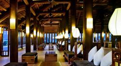 Emeralda Resort Reception area