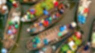 Floating Market in Mekong