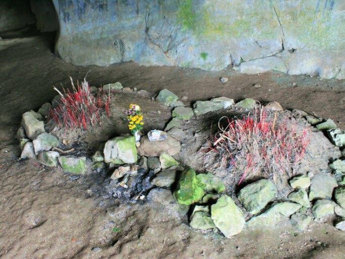 Graves of prehistoric men