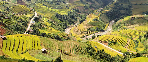 Best view of Mu Cang Chai