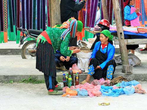 H'mong people in Ha Giang