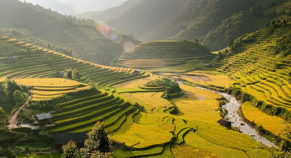 Breath-taking view in Mu Cang Chai