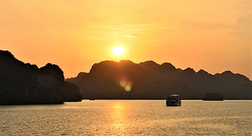 Halong at dawn