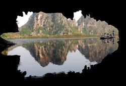 Cave in Van Long