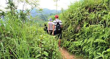 Trek in Hoang Su Phi
