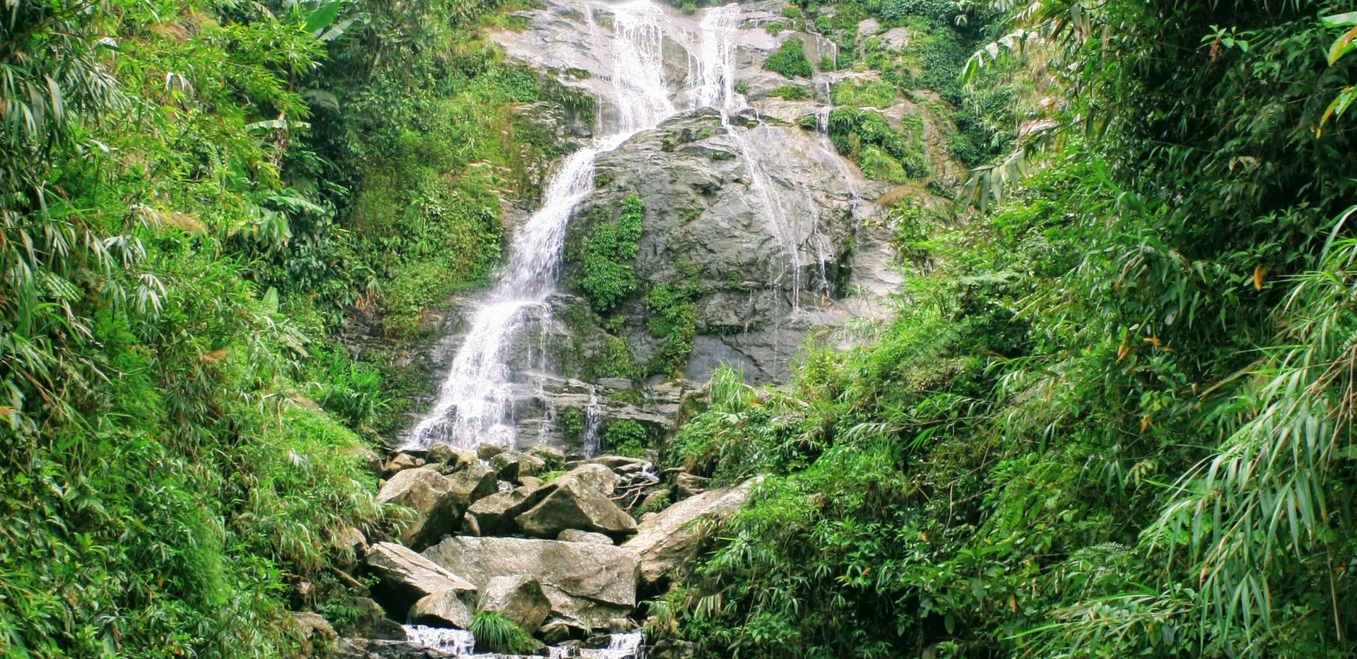 Waterfall in Ha Giang