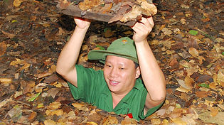 At Cu Chi Tunnels