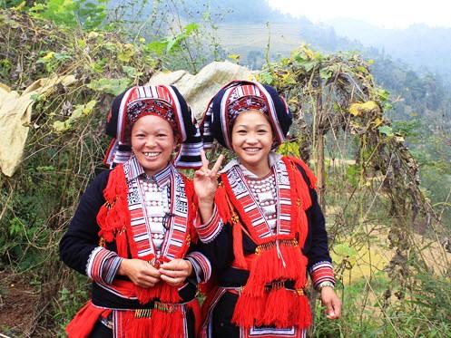 Red Yao minority in Hoang Su Phi