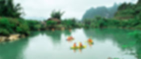 cao bang kayaking