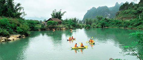 cao bang kayaking