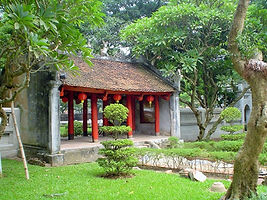 The gate temple