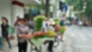 Street Flower vendors