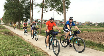 Cycling in Bac Ninh