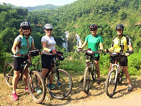 Cycling in northern Vietnam