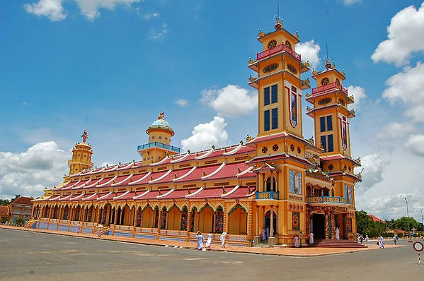 Cao Dai Temple the hidden places in southern Vietnam