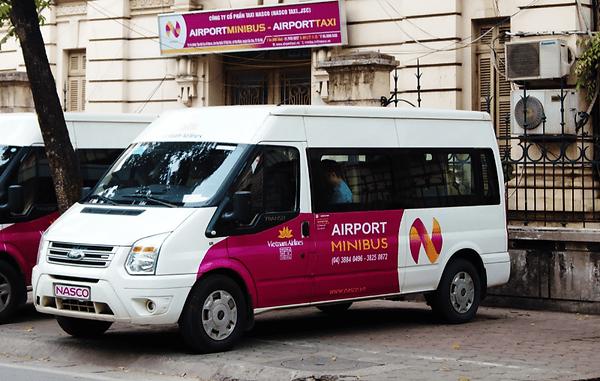 AIRPORT MINIBUS.Hanoi Travel Guide