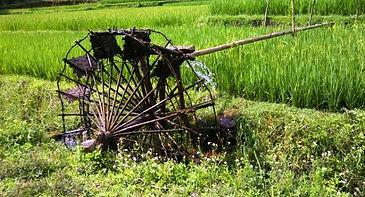 Water Wheel in Pu Luong