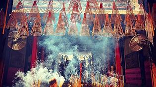 inscense burning
