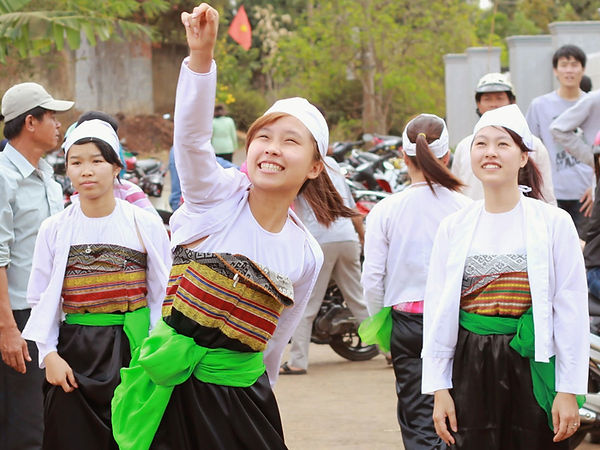 Muong ethnic  traditional costumes of Vietnam