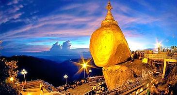Rock Kyaikhtiyo Pagoda