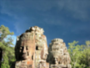 Bayon Smiling Faces