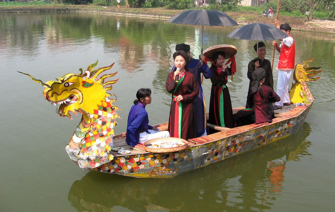 lim festival the principal holidays and festival in Vietnam