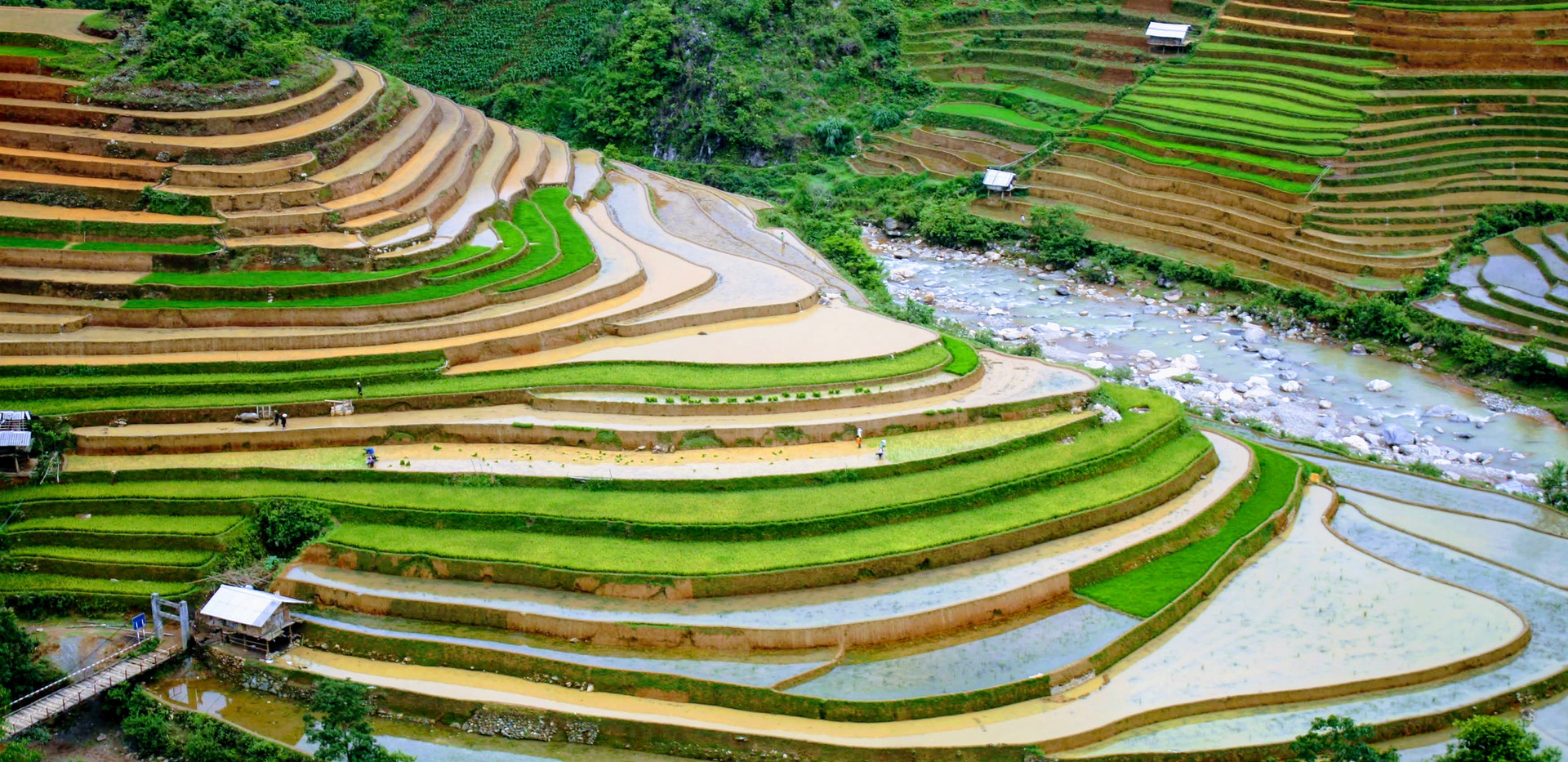 Mu Cang Chai in Rainy Season